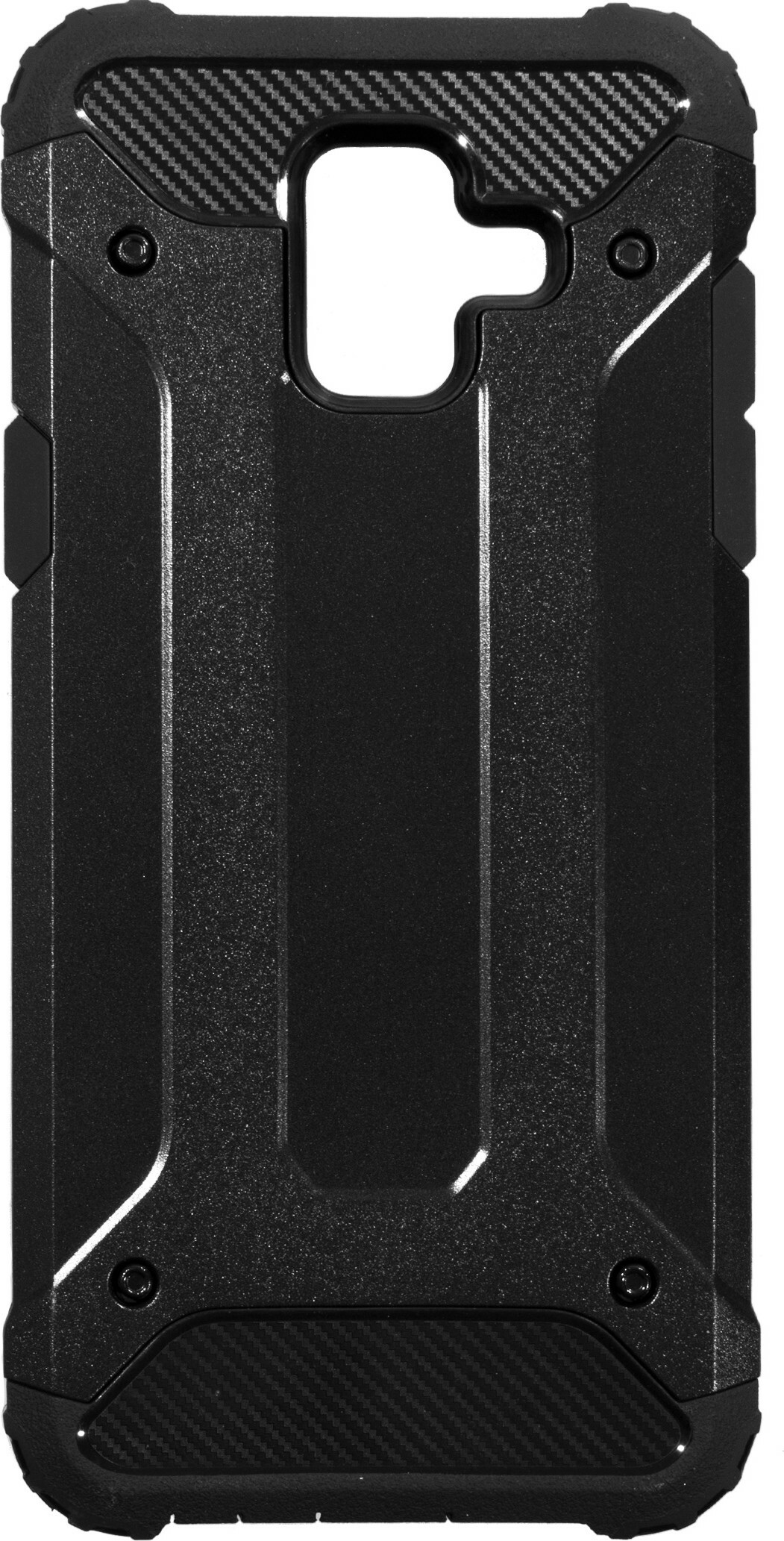 Mobiparts Rugged Shield Case Samsung Galaxy A6 (2018) Black