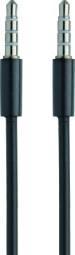 Mobiparts AUX Cable 3.5 mm to 3,5 mm Black (1 meter)
