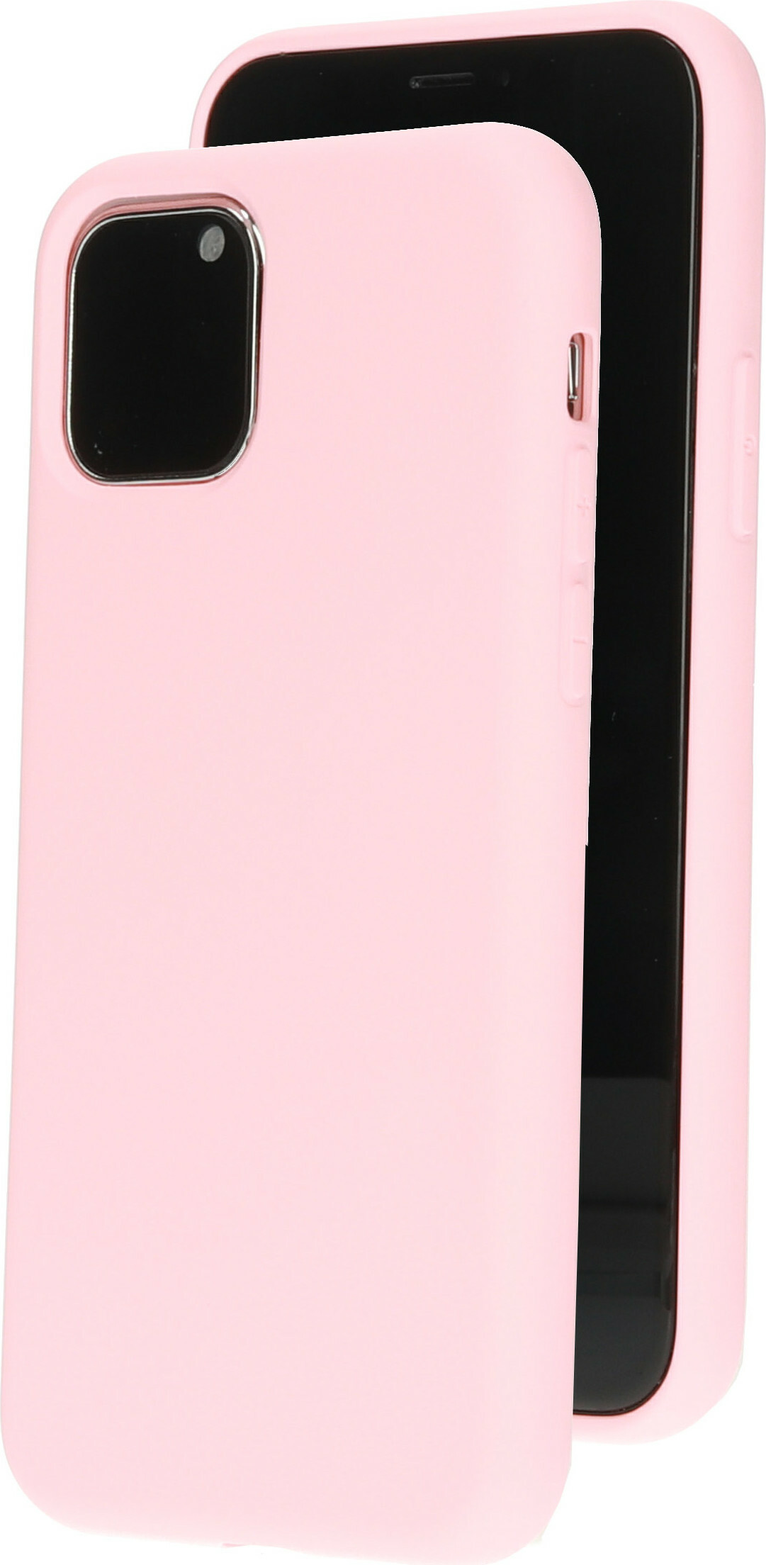Mobiparts Silicone Cover Apple iPhone 11 Pro Blossom Pink