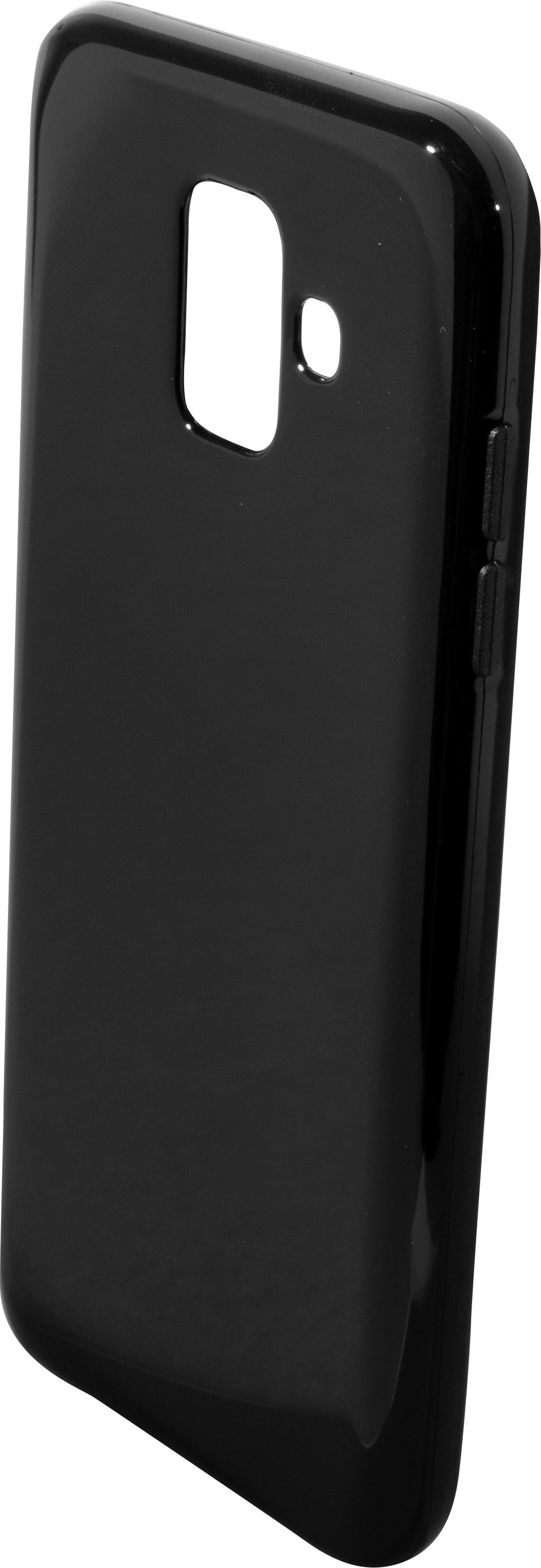 Mobiparts Essential TPU Case Samsung Galaxy A6 (2018) Black
