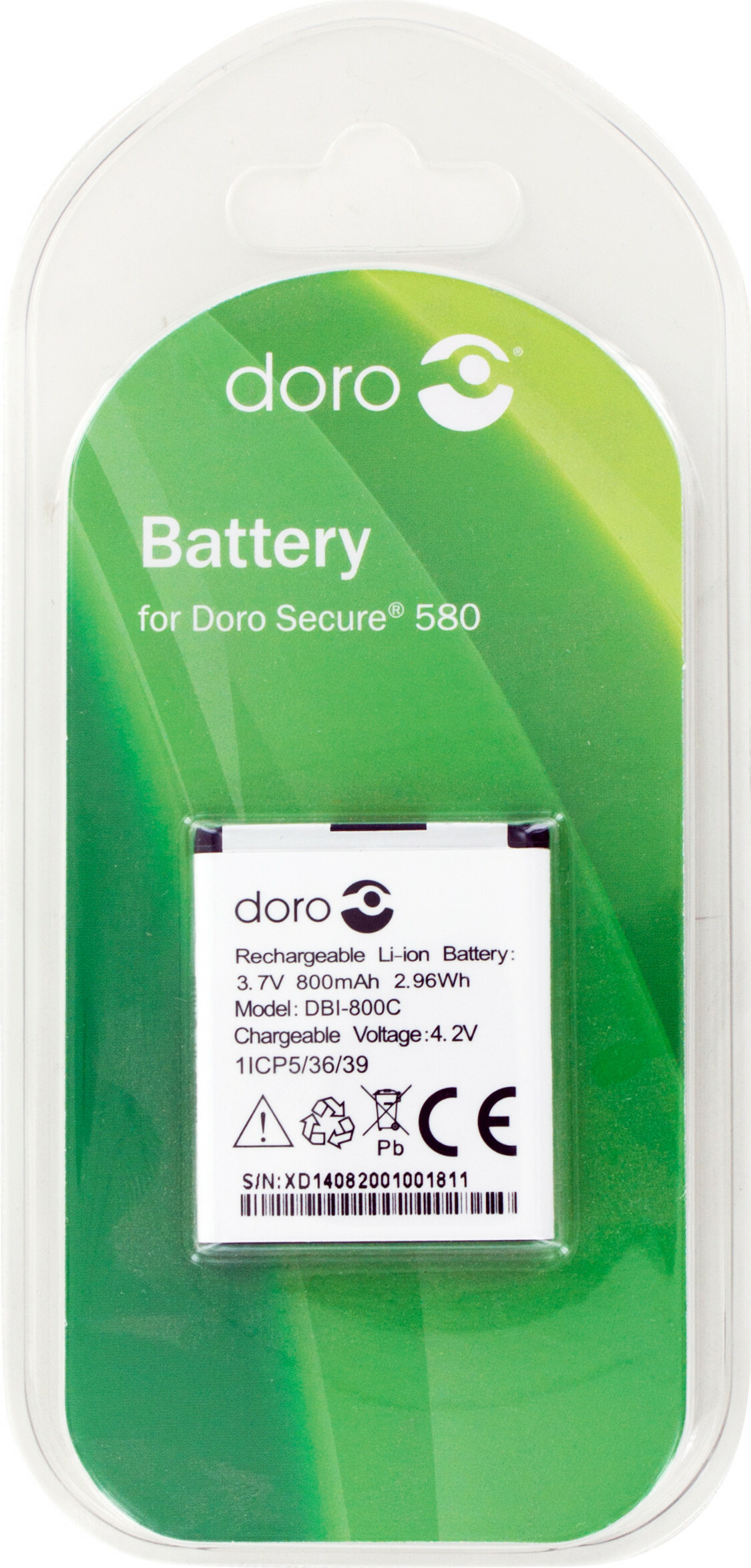 Doro Secure 580 (IUP) Battery