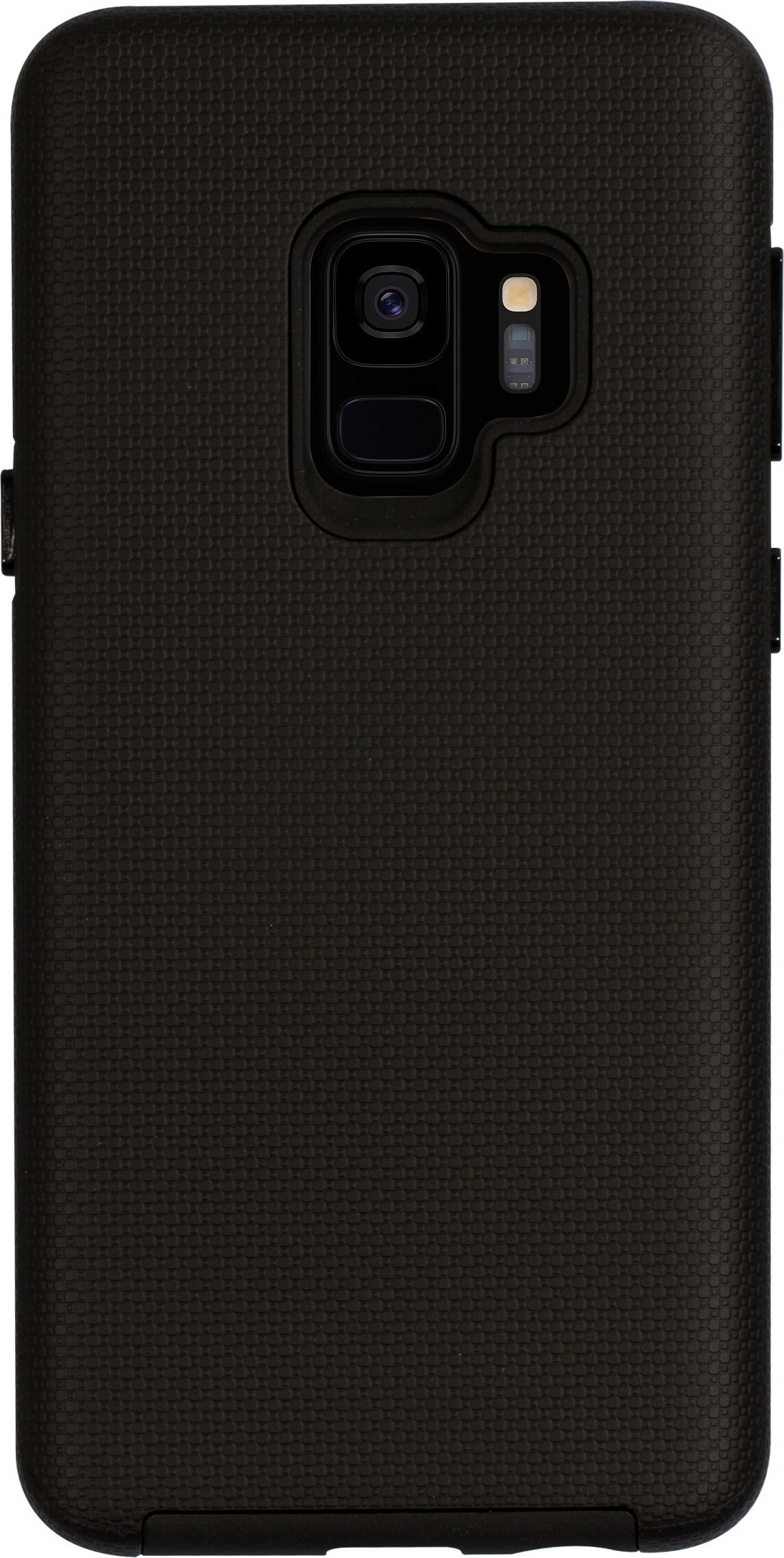 Mobiparts Rugged Tough Grip Case Samsung Galaxy S9 Black