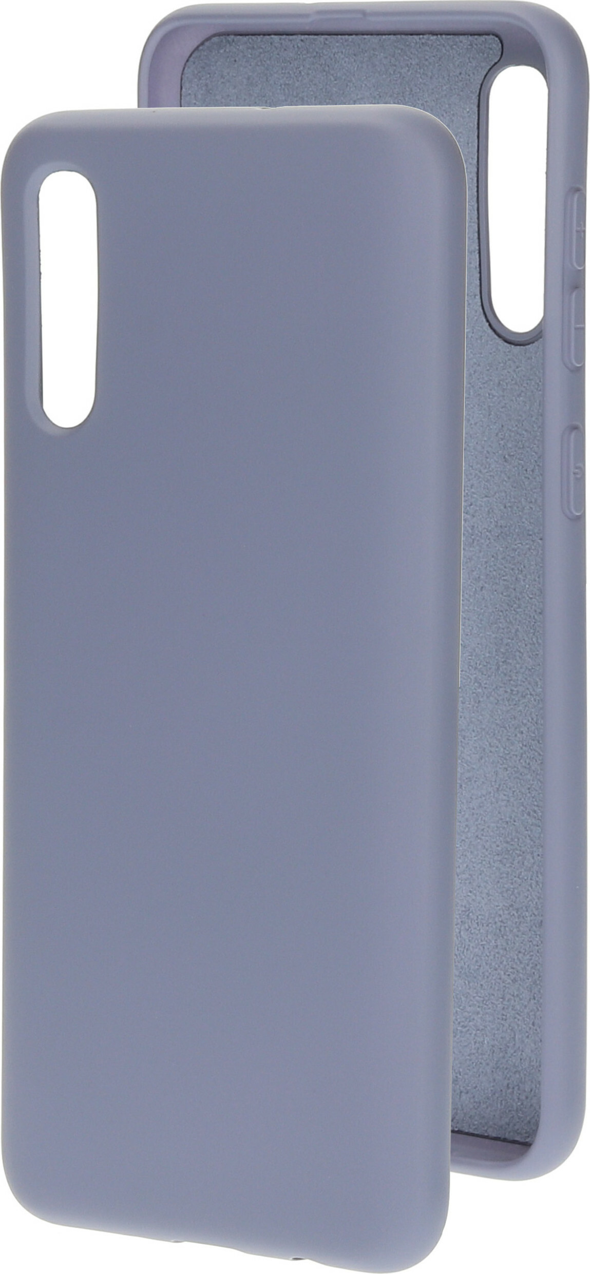 Mobiparts Silicone Cover Samsung Galaxy A50/A30S Royal Grey