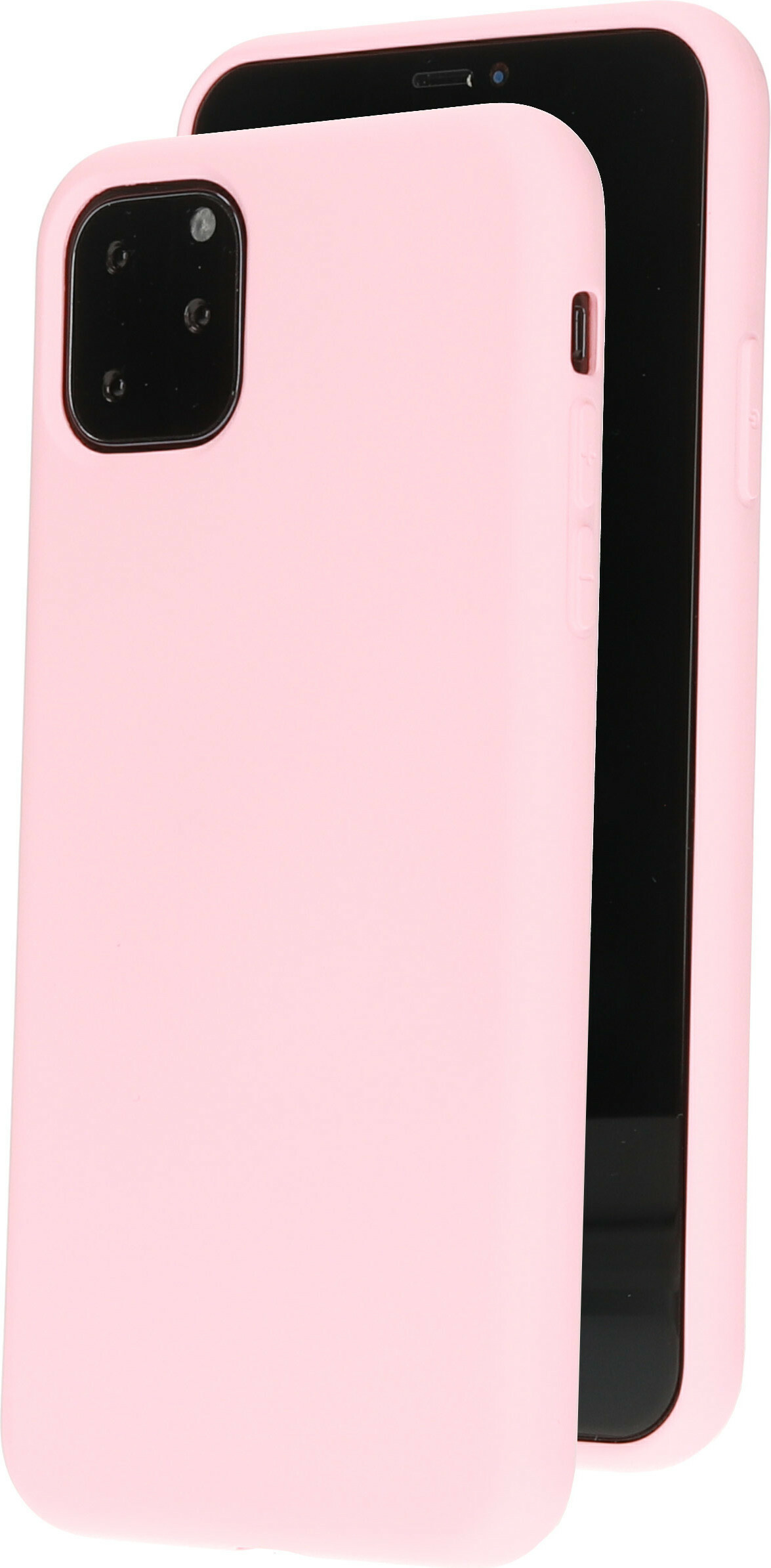 Mobiparts Silicone Cover Apple iPhone 11 Pro Max Blossom Pink