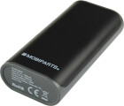 Mobiparts Portable Power + Flashlight 4.000 mAh Black