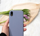 Mobiparts Silicone Cover Apple iPhone XR Royal Grey