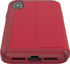 Speck Presidio Leather Folio Apple iPhone X/XS Rouge Red