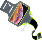 Mobiparts Comfort Fit Sport Armband Apple iPhone XS Max Neon Green