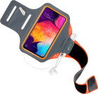 Mobiparts Comfort Fit Sport Armband Samsung Galaxy A50/A30S Neon Orange