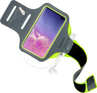 Mobiparts Comfort Fit Sport Armband Samsung Galaxy S10 Plus Neon Green
