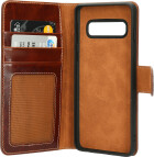 Mobiparts Excellent Wallet Case 2.0 Samsung Galaxy S10 (6.1) Oaked Cognac