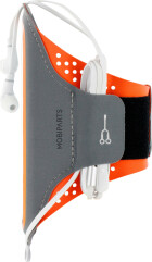 Mobiparts Comfort Fit Sport Armband Samsung Galaxy S20 Plus Neon Orange