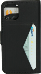 Mobiparts Classic Wallet Case Apple iPhone 12 Mini Black