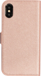 Mobiparts Saffiano Wallet Case Apple iPhone X/XS Pink
