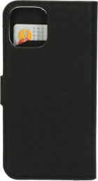 Mobiparts Saffiano Wallet Case Apple iPhone 12/12 Pro Black