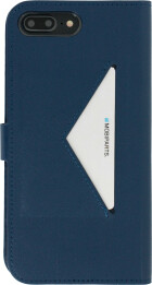 Mobiparts Classic Wallet Case Apple iPhone 7 Plus/ 8 Plus Blue