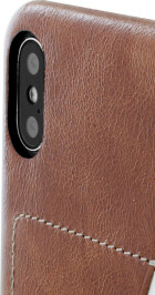 Mobiparts Excellent Backcover Apple iPhone X/XS Oaked Cognac