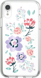 Speck Presidio Clear + Print Apple iPhone XR Canopyfloral Lavender/ Clear