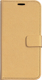 Mobiparts Saffiano Wallet Case Samsung Galaxy S8 Gold
