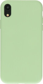 Mobiparts Silicone Cover Apple iPhone XR Pistache Green