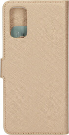 Mobiparts Saffiano Wallet Case Samsung Galaxy S20 Copper