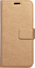 Mobiparts Saffiano Wallet Case Samsung Galaxy A6 (2018) Copper