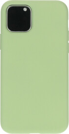 Mobiparts Silicone Cover Apple iPhone 11 Pro Pistache Green