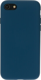 Mobiparts Silicone Cover Apple iPhone 7/8/SE (2020) Blueberry Blue