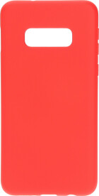 Mobiparts Silicone Cover Samsung Galaxy S10e Scarlet Red