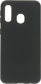 Mobiparts Silicone Cover Samsung Galaxy A40 (2019) Black