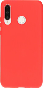 Mobiparts Silicone Cover Huawei P30 Lite Scarlet Red