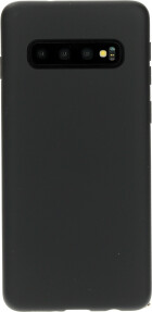 Mobiparts Silicone Cover Samsung Galaxy S10 Black