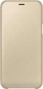Samsung Galaxy A6 (2018) Wallet Cover Gold