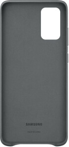Samsung Galaxy S20 Plus Leather Cover Gray