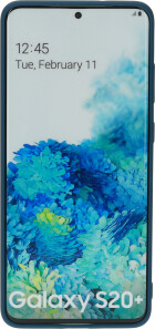 Mobiparts Silicone Cover Samsung Galaxy S20 Plus Blueberry Blue