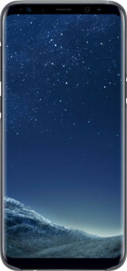 Samsung Galaxy S8 Plus Clear Cover Black