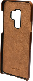 Mobiparts Excellent Backcover Samsung Galaxy S9 Plus Oaked Cognac