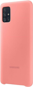 Samsung Galaxy A71 (2020) Silicone Cover Pink