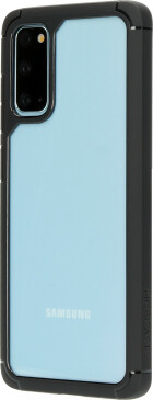 Mobiparts Rugged Clear Case Samsung Galaxy S20 Black