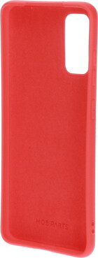 Mobiparts Silicone Cover Samsung Galaxy S20 Scarlet Red