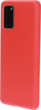 Mobiparts Silicone Cover Samsung Galaxy S20 Plus Scarlet Red