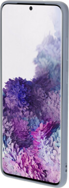 Mobiparts Silicone Cover Samsung Galaxy S20 Plus Royal Grey