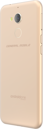General Mobile Android One GM 8 White Gold