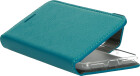 Mobiparts Saffiano Wallet Case Apple iPhone 7/8/SE (2020) Turquoise