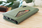 Mobiparts Classic Wallet Case Apple iPhone XR Stone Green