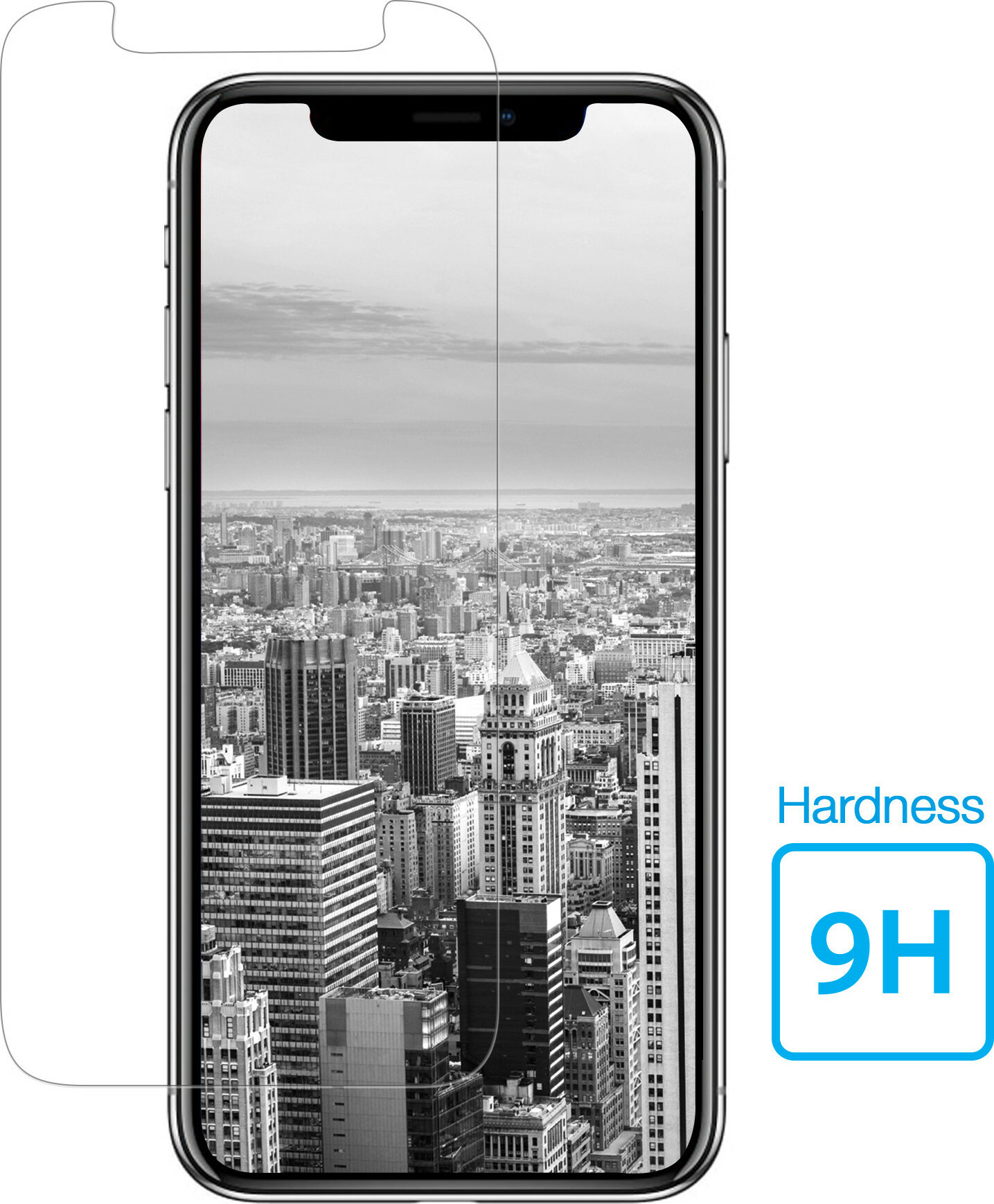 Mobiparts Regular Tempered Glass Apple iPhone X/XS