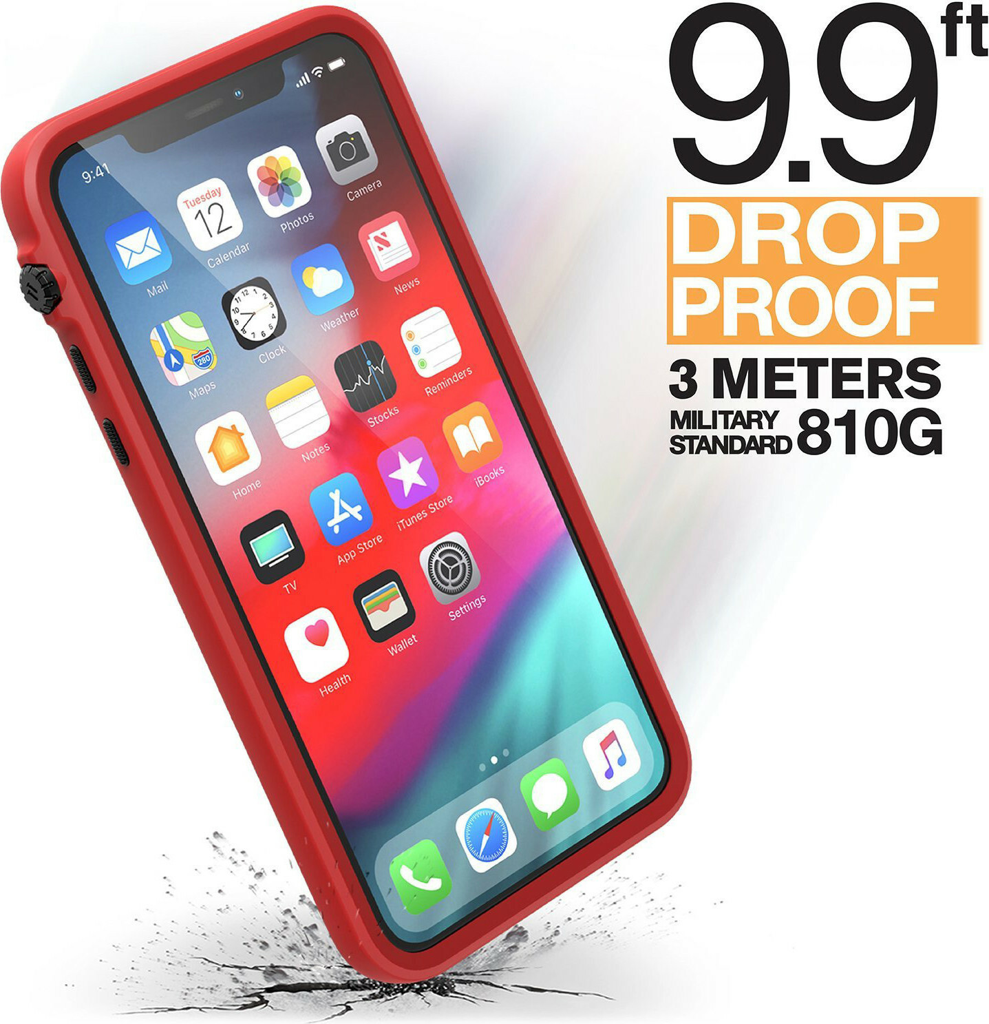Catalyst Impact Protection Case Apple iPhone 11 Pro Max Black/Red