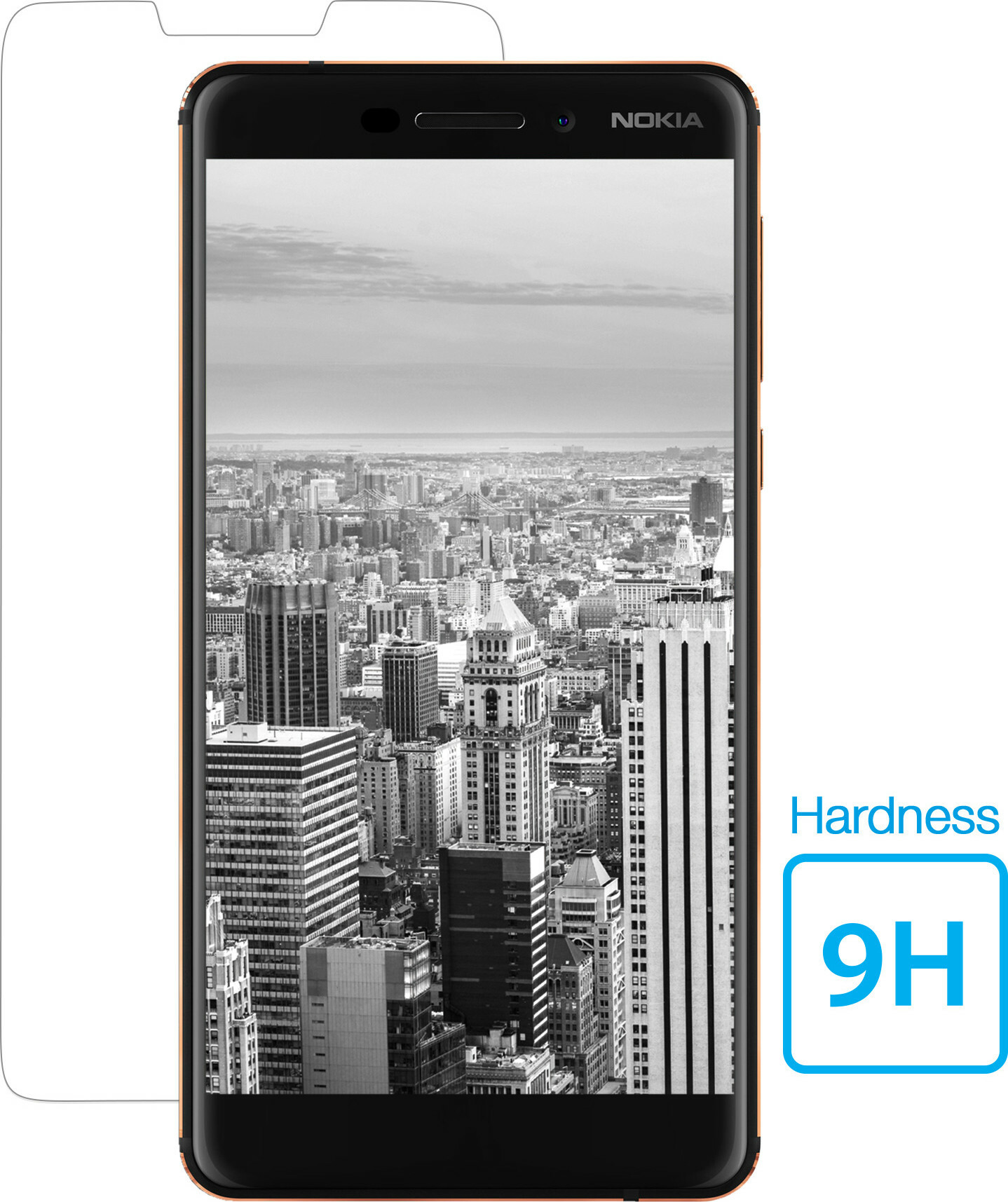 Mobiparts Regular Tempered Glass Nokia 6.1 Plus (2018)