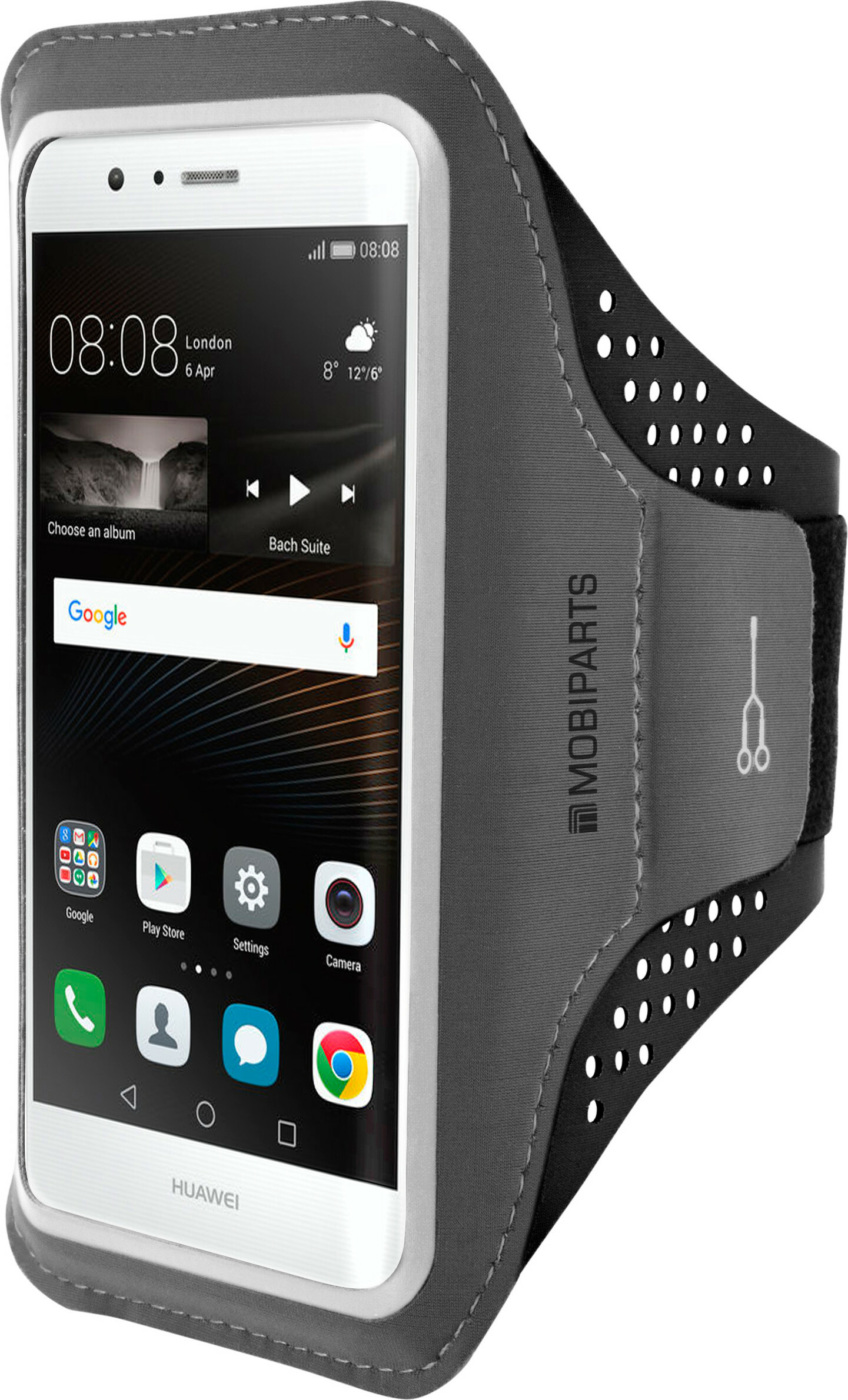 Mobiparts Comfort Fit Sport Armband Huawei P9 Lite Black