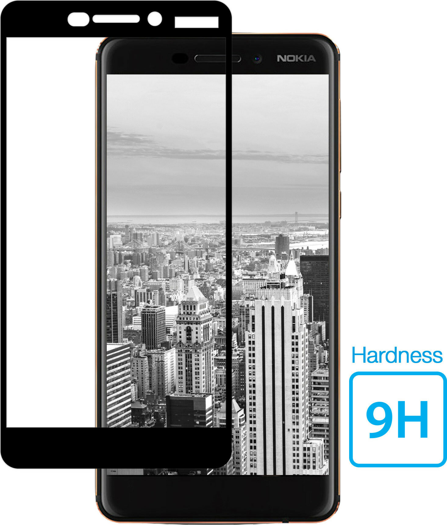 Mobiparts Regular Tempered Glass Nokia 6 (2018)